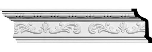 MLD04X02X05VE Crown Moulding, Cove Moulding