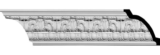 MLD04X03X06CO Ornate Crown Moulding