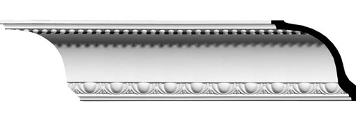 MLD04X05X06AR Ornate Crown Moulding