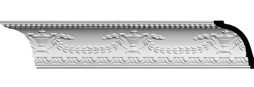 MLD05X04X06SA Ornate Crown Moulding