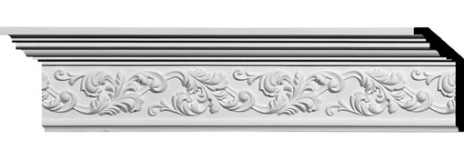 MLD05X02X06RI Ornate Crown Moulding