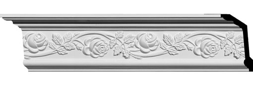 MLD05X02X06RO Ornate Crown Moulding
