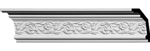 MLD05X02X06SP Ornate Crown Moulding