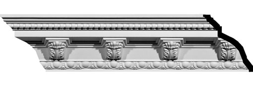 MLD05X05X07AT Ornate Crown Moulding