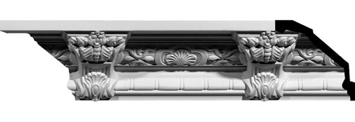 MLD05X06X08MO Crown, Cove & Cornice Moulding
