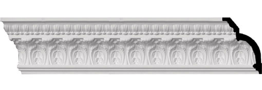 MLD07X05X09OD Ornate Crown Moulding
