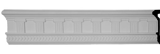 "7 7/8""H x 1 7/8""P x 94 1/2""L Bradford Classic Doril Frieze"