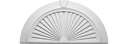 Architectural Commercial Exterior Decorative Trim : Pediments window door