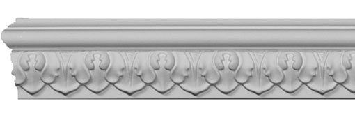 MLD01X00BL Chair Rail & Friezes