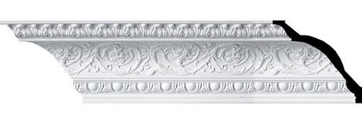 MLD09X10X14HI Large Crown Moulding - Foam Crown Moulding