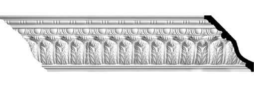 MLD08X08X11AC Large Crown Moulding - Foam Crown Moulding