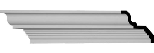 MLD03X04X05BU Simple Crown Molding