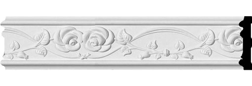 CHA03X01RO Chair Rail & Friezes