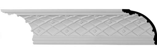 MLD05X05X06BR Crown Moulding, Cove Moulding