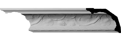 MLD07X09X11OD Large Crown Moulding - Foam Crown Moulding