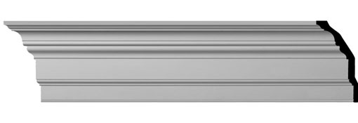 MLD13X07X12ER Large Crown Moulding - Foam Crown Moulding