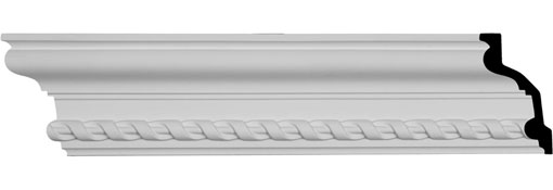 MLD04X02X05JA Traditional Crown Moulding