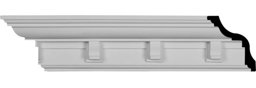 MLD04X03X06NO Traditional Crown Moulding