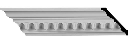 MLD03X04X06HE Traditional Crown Moulding