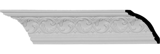 MLD04X03X05RI Traditional Crown Moulding