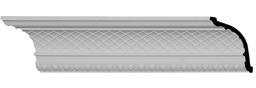 MLD06X06X09BR Traditional Crown Moulding