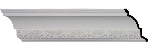 "7 1/8""H x 6 1/4""P x 9 1/2""F x 94 1/2""L, (5 3/8"" Repeat), Athena Crown Moulding"