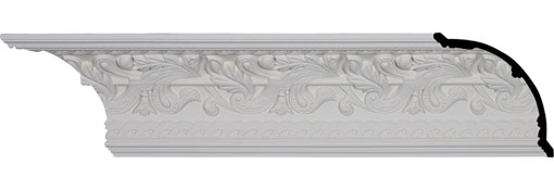 "7""H x 7""P x 9 7/8""F x 94 1/2""L, (9 5/8"" Repeat), Kinsley Crown Moulding"