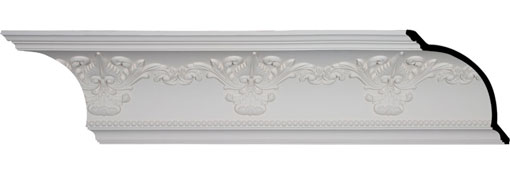 MLD09X10X13SY Large Crown Moulding - Foam Crown Moulding