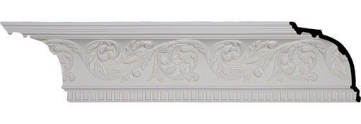 MLD08X08X11HA Large Crown Moulding - Foam Crown Moulding