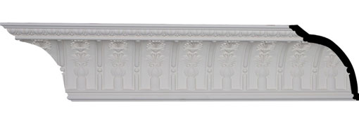 MLD09X07X11TT Large Crown Moulding - Foam Crown Moulding