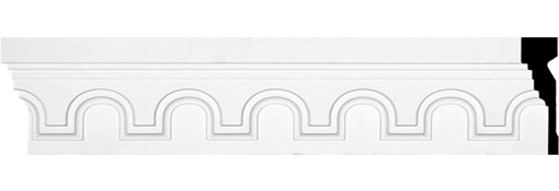 "6 7/8""H x 2""P x 94 1/2""L Heaton Frieze"