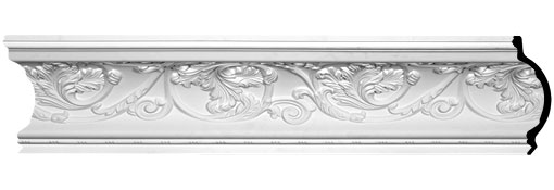 MLD07X09X11NA Large Crown Moulding - Foam Crown Moulding