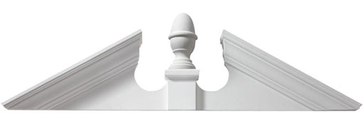 ACORN-PEDIMENT Pediments