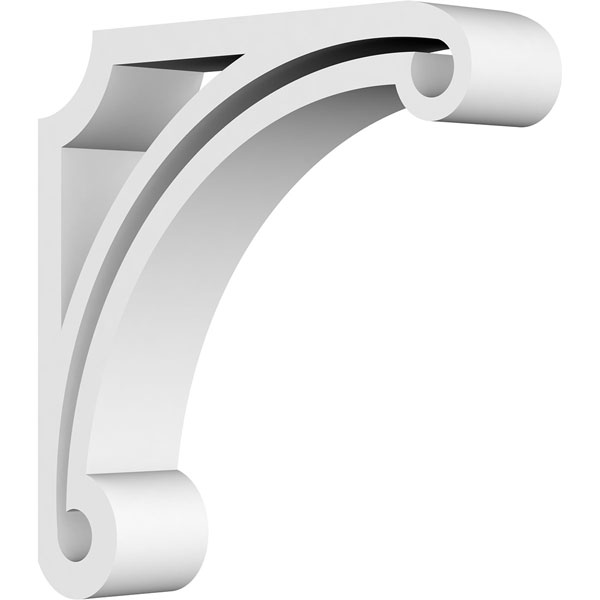 Arch Architectural Grade PVC Gingerbread Bracket