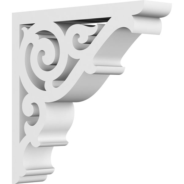 Athens Architectural Grade PVC Gingerbread Bracket