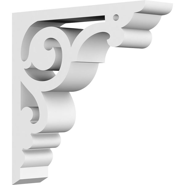 Hurley Architectural Grade PVC Gingerbread Bracket