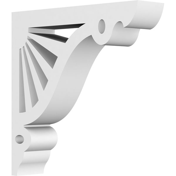 Marshall Architectural Grade PVC Gingerbread Bracket