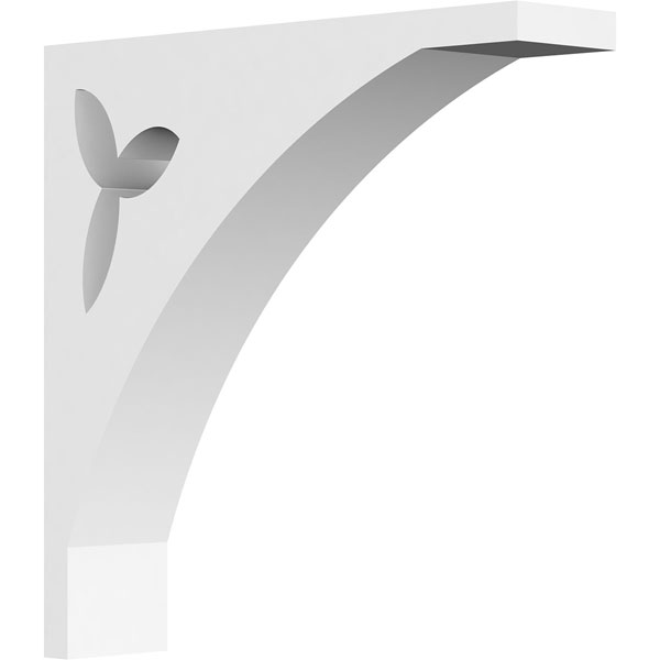 Naple Architectural Grade PVC Gingerbread Bracket