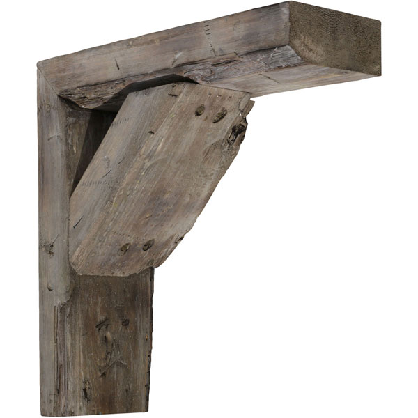 Vintage Farmhouse Bracket, Barnwood Decor Collection