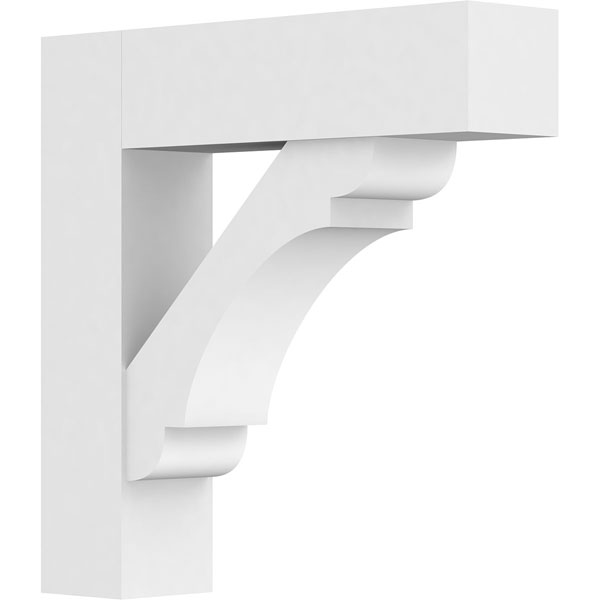 Standard Olympic Architectural Grade PVC Bracket with Block Ends