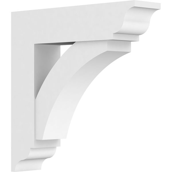 Standard Thorton Architectural Grade PVC Bracket with Traditional Ends