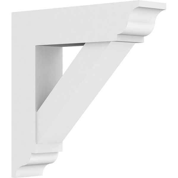 Standard Traditional Architectural Grade PVC Bracket with Traditional Ends