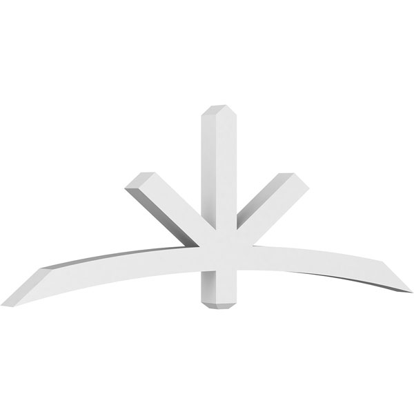 Alberta Architectural Grade PVC Gable Bracket Pediment