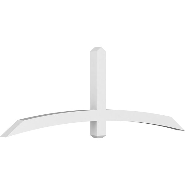 Bellingham Architectural Grade PVC Gable Bracket Pediment