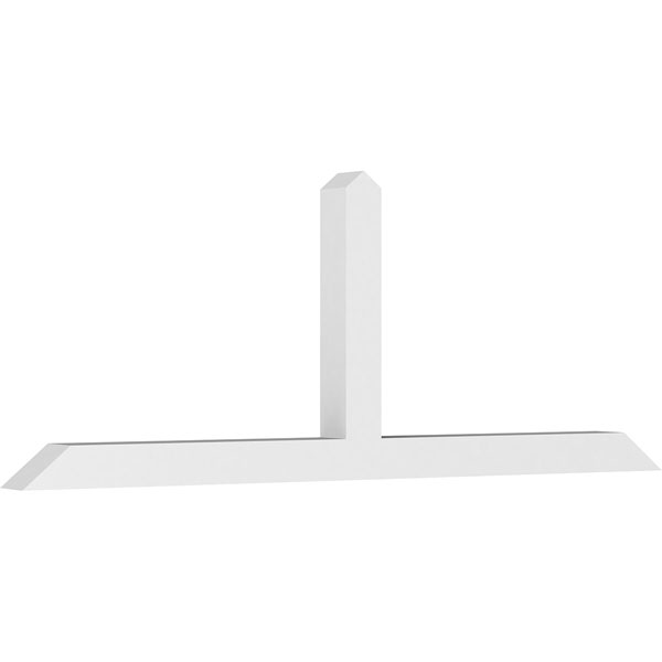 Portland Architectural Grade PVC Gable Bracket Pediment