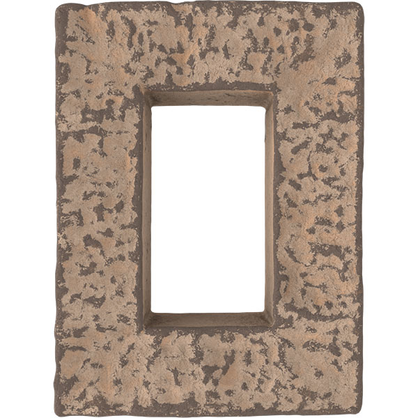 """4""""W x 3""""D x 7 7/8""""H Universal Electrical Cover for StoneWall Faux Stone Siding Panels"""