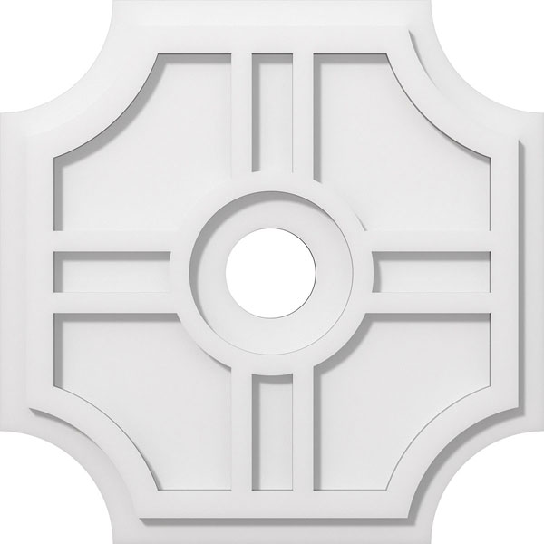 Haus Architectural Grade PVC Contemporary Ceiling Medallion