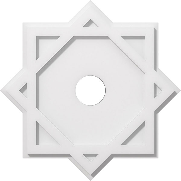 Axel Architectural Grade PVC Contemporary Ceiling Medallion