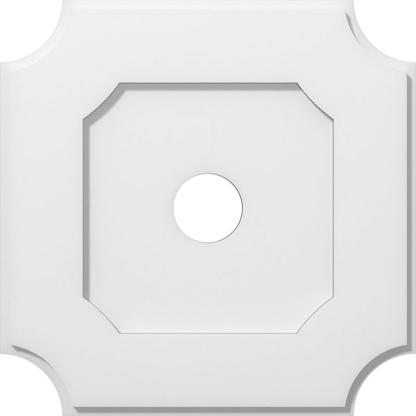 Locke Architectural Grade PVC Contemporary Ceiling Medallion