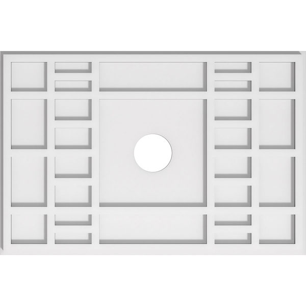 Beaux Architectural Grade PVC Contemporary Ceiling Medallion